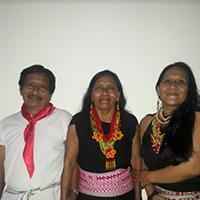Mercedes Jacanamejoy, Lucio Jacanamejoy, Nelcy Lucía Jacanamejoy